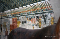 Hathor Chapel (konde) Tags: statue museum ancient goddess chapel frieze cairo limestone 18thdynasty hieroglyphs thebes hathor deirelbahri thutmoseiii newkingdom mortuarytemple tuthmose khekeru