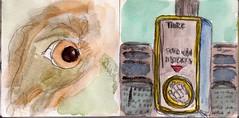 als mich ihr Blick traf, wusste ich, dass nichts mehr so war wie früher. Alles hatte sich geändert und die gewesenen Dinge würde niemals zurück kehren (raumoberbayern) Tags: city winter bus fall pencil paper munich münchen landscape herbst tram sketchbook stadt papier landschaft bleistift robbbilder skizzenbuch strasenbahn