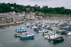 Lyme Regis (Smashatom) Tags: sea beach boats four town harbour olympus devon micro lyme regis omd thirds em5 mirrorless microfourthirds