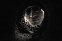 (Ivn Rubn) Tags: old light shadow brown luz caf monochrome sepia contraluz time dream places sombra nostalgia lugares rincones instant gloom viejo longing backlighting sueo corners tiempo instante tnel penumbra monocromtico