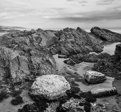 Rock Pools (Owen Davies Landscape Photography) Tags: beach rock wales pools pembrokeshire amroth