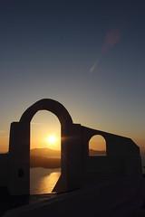 IMG_5589 (Ian.2020) Tags: sunset santorini caldera sky kamari sun aegean sea silhouette greece