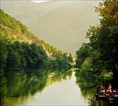 Green gorge (Katarina 2353) Tags: summer mountain film landscape nikon europe serbia srbija morava ovcarskokablarskaklisura katarinastefanovic katarina2353 ovcarkablargorge