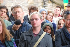 """Intense emototions at the Plymouth Stands with Orlando Vigil • <a style=""""font-size:0.8em;"""" href=""""http://www.flickr.com/photos/66700933@N06/27678427811/"""" target=""""_blank"""">View on Flickr</a>"""
