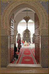 the splendor of Fes (mhobl) Tags: islam morocco fez maroc fes grabmal moulayidrissii marokko201516