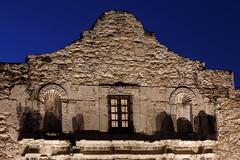 The Alamo-2 (Digital Traveler) Tags: morning sanantonio texas unitedstates landmark historic bluehour thealamo