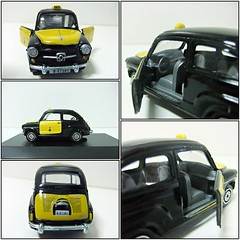 """SEAT 600 """"Taxi de Barcelona"""" - GUISVAL (RMJ68) Tags: seat 600 e taxi barcelona fiat guisval diecast coches cars juguete toy 143"""
