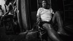 Calm Isle (erikjnainggolan) Tags: isle slum slums ghetto jakarta china town man old