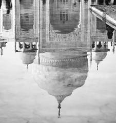 Upside down (ravalli1) Tags: tajmahal india agra art architecture mausoleum 2012 marble reflections water mughal unesco nikon5100