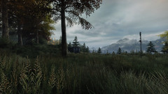 VOEC - 019 (Screenshotgraphy) Tags: bridge sunset mountain lake game nature water colors contrast forest landscape soleil screenshot gare lumire lac ethan steam gaming beaut carter concept paysage vanishing campagne foret beautifull jeu naturelle urbain