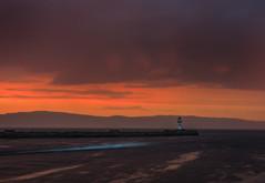 High speed PWC (strupert) Tags: nidelva 2470mm sunset nikon seascape pier lighthouse pwc skyfall rain midnight harbour trndelag trondheim