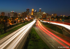 Minneapolis - Pitter Patter (lpvisuals.com) Tags: city longexposure urban usa cars minnesota skyline skyscraper buildings lights downtown cityscape nightlights sony minneapolis wellsfargo fe alpha carlights idstower 2016 carlightstreaks fe1635mmf4 sonya7ii usbankstadium