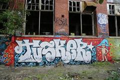 Pispala jamming (Thomas_Chrome) Tags: street streetart art wall suomi finland graffiti europe gallery fame can spray chrome walls jam tampere legal hof pispala