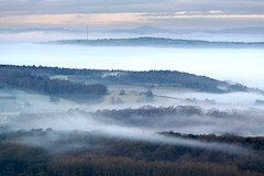 Malvern Magic (jactoll) Tags: malvern herefordshire malvernhills fog foggy mist misty mood light landscape nikonfxshowcase nikon d610 70200mmf4 jactoll