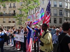 Occupy Paris & Orlando - Pride - US Embassy (Jeanne Menjoulet) Tags: marchedesfiertés lgbt paris 2juillet2016 lesbiangaypride gay lesbiennes bi trans gaypride pride occupy orlando usembassy lbgt