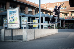 Boris, crooked grind (Fabio Stoll) Tags: sport switzerland skateboarding outdoor swiss sony flash skating skate bern backside grind sprung crooked metz ad360 triggers kgrind a99 skatephotography pixelking godox ajvt