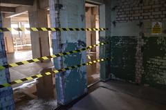 Millennium Mills (Squirmelia) Tags: london tape millenniummills asbestos