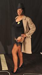 Inspector Kacey, Serious Business! (kaceycd) Tags: stockings pumps highheels tgirl bodysuit stilettoheels pantyhose crossdress nylon spandex tg leotard stilettos nylons garterbelt garters suspenderbelt ffstockings sexypumps stilettopumps rhtstockings
