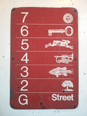 128 (Doe Eyed) Tags: parking numbers gastown