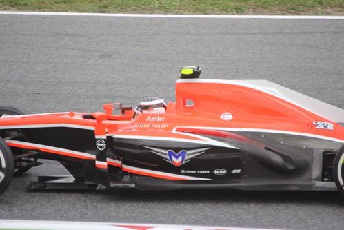 Max Chilton in the 2013 Spanish Grand Prix