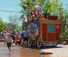 Monkey Business at Magic Kingdom's Casey Jr Splash Pad - 5.13 (meanderingmouse) Tags: travel disney cash canonef24105mmf4lis