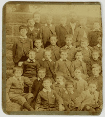 School class, Aberfeldy, 19th cent (P&KC Archive) Tags: school building tourism fashion sport architecture scotland education 19thcentury perthshire scene recreation roads royalty aberfeldy spectacle perthandkinross