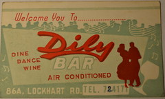 Dily Bar (m20wc51) Tags: bar hongkong card kowloon wanchai