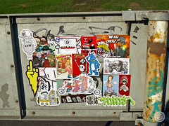 (t-ninja) Tags: street 2 nerd girl k bike t switch robot cow sticker stickerart panda fighter hand flash low stickers postalsticker parrot chick josh willow cap question stick lettering 35 tee handdrawn kuster chotch skam noke baol evoker multirider sckull stickerbombing schurk stickerartists tnj tninja cccrew mrswitch tnja oidone bigdar teeninja tninjah t