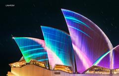 Vivid Sydney Opera House (australia) during Vivid Sydney festival June 2013