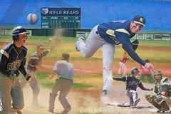 Go Hard or Go Home (Lil Stang 05) Tags: school composite photoshop high baseball adobe montage layers danielbartels dannybartels riflehighschoolbaseball