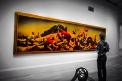 Art (Africanist) Tags: bw museum dc washington nikon gallery colorsplash d7000