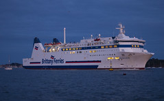 Barfleur 2 (D G Butcher) Tags: ferry boats harbour nightsky patrol poole moorings barfleur pooleharbourwatch