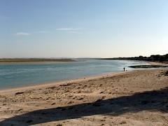 Río San Pedro (Emilio__) Tags: ocean blue sea costa water rio azul coast mar agua san pedro cadiz oceano puertoreal riosanpedro