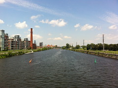 Walking along the Lachine Canal (ndh) Tags: canada quebec montreal
