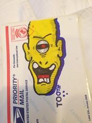 photo (4) (¡Tooth!) Tags: graffiti sticker tag slap slaptag