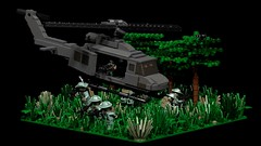 """""""The Eyes Of The Eagle"""" (Florida Shoooter) Tags: usa lego vietnam lrps ldd lddtopovray"""