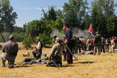 Hauptmann F. Von Meyer (Zane's Photography) Tags: civilwar reenactment d800 americancivilwar willamettemissionstatepark 2470mmf28g northwestcivilwarcouncil nwcwc willamettemissionreenactment