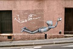 Seth & Mesnager (dprezat) Tags: street urban paris art painting seth stencil tag graf peinture aerosol mesnager bombe pochoir lézartsdelabièvre jéromemesnager sonyalpha700