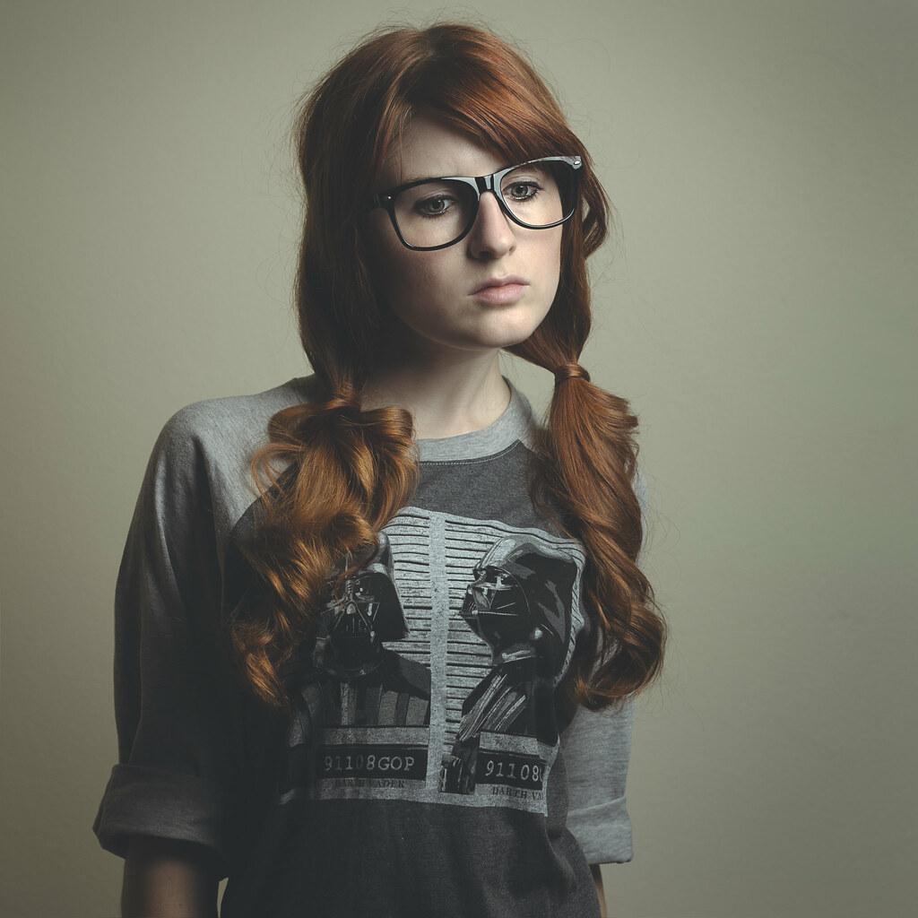 nerdy redhead self - XXGASM