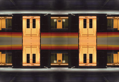 Second Place: Daryl-Ann Saunders (railphotoart) Tags: street city nightphotography railroad light sunset sky urban color building skyline architecture night train subway photography movement twilight track metro parking horizon colorphotography platform transportation transit subwaystation traintrack colorphoto artificiallight subwaycar fluorescentlight subwayplatform reciprocity fluorescentlighting beyondtheplatformseries darylannsaunders