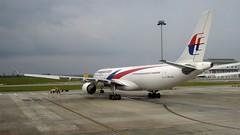 Malaysia Airlines Airbus A330-300 (9M-MTH), Kuala Lumpur International Airport, Malaysia (David McKelvey) Tags: airport international kuala lumpur