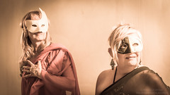 Les Dames Masques (Telleyris Photographies) Tags: balmasqu miseenscne