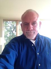 Apre'-Lunch, Pre-Evening Community Meeting Shirt Change Selfie