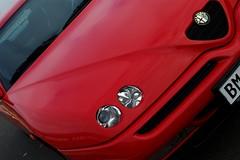 GTV in 2013 (v6rev) Tags: auto red rot car automobile automotive turbo alfa romeo gtv 1997 rood tb v6 pininfarina rossa kfz