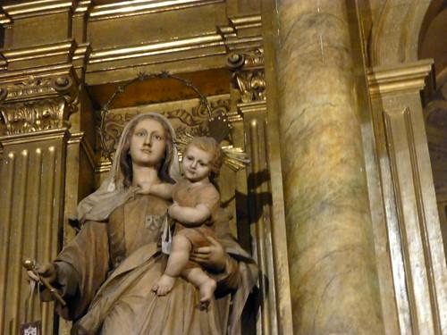 Barcelona - Basílica de la Merced - Capilla Mare de Deu del Carmen, Mare de Deu Desamparats y Santa Teresa del nen Jesus