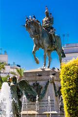 Miguel Primo de Rivera - Plaza del Arenal - Jerez (cives-expat) Tags: plaza españa miguel del de primo estatua rivera arenal jerezdelafrontera