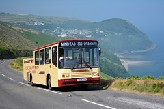 Quantock - R928 XVM (Solenteer) Tags: volvo ps alexander lynmouth opentop countisbury b10m quantockmotorservices r928xvm