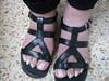 DSCF2004 (sandalman444) Tags: color male feet long sandals nail pedicure care toenails pedicured toerings mensfeet