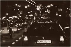 Traffic jam, Kraków (la cegna) Tags: