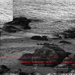 8 (cintamills) Tags: ocean sea portrait blackandwhite white black art water digital photoshop square photography grey scary artwork rocks fear grayscale scared fears glitch phobia greyscale earlier phobias aquaphobia glitched erythrophobia ereuthophobia erytophobia